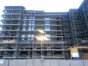 Commercial Building Under Construction with full Security in Arizona