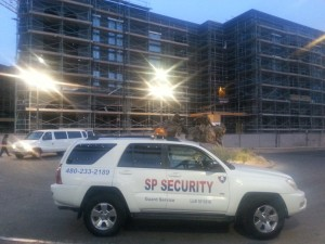 Patrol car at a event in Glendale AZ