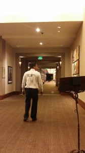 Patrolling at a Trade Show - Silent Protection (SP) Security Guards Services - Scottsdale Arizona
