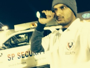 Patrolling the Property at Commercial Location - Silent Protection (SP) Security Guards